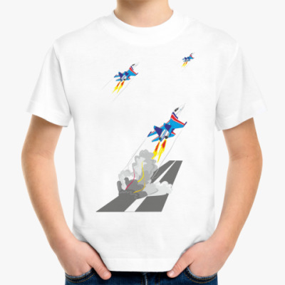 Детская футболка Русские Витязи