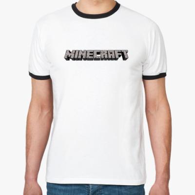 Футболка Ringer-T Minecraft
