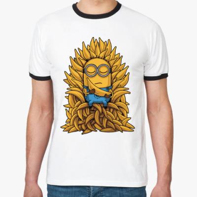 Футболка Ringer-T Banana Throne