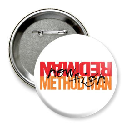 Значок 75мм Method Man & Redman