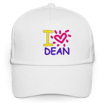 Кепка бейсболка Supernatural - I love Dean