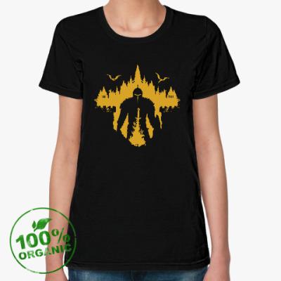 Женская футболка из органик-хлопка Dark Souls