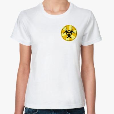Классическая футболка  BIOHAZARD