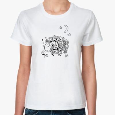 Классическая футболка Барашек спит