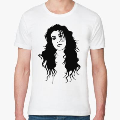 Футболка из органик-хлопка Amy Winehouse