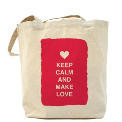 Сумка Keep calm and make love