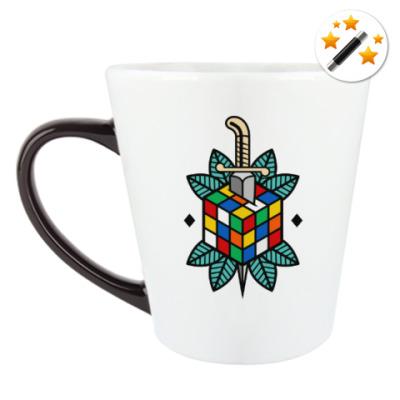 Кружка-хамелеон Кубик Рубика   Спидкубинг