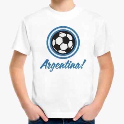 Детская футболка Аргентина