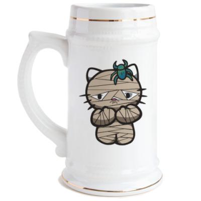 Пивная кружка Китти Мумия