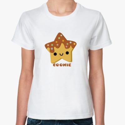 Классическая футболка Печенька-звезда4ка