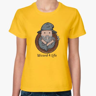 Женская футболка Wizard 4 Life