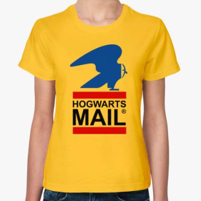 Женская футболка Harry Potter - Почта Hogwarts