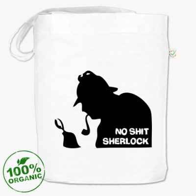 Сумка  'No shit. Sherlock.'