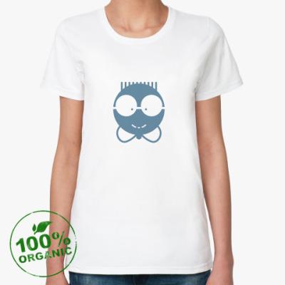 Женская футболка из органик-хлопка  «Ботаник»