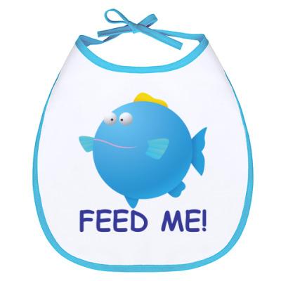 Слюнявчик FEED ME!