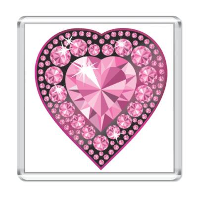 Магнит I love you - Любовь в сердце