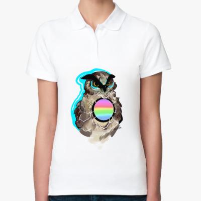 Женская рубашка поло Совиная коллекция