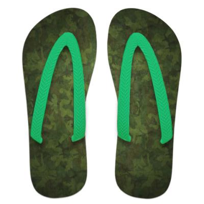 Шлепанцы (сланцы)  'Военный камуфляж'