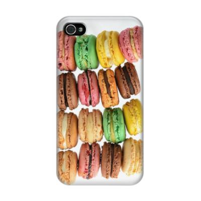 Чехол для iPhone 4/4s macarons