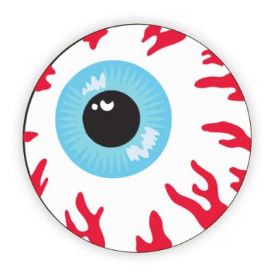 Костер (подставка под кружку) Глаз