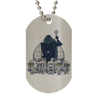 Жетон dog-tag Darth Vader & Minions
