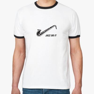 Футболка Ringer-T Jazz do it