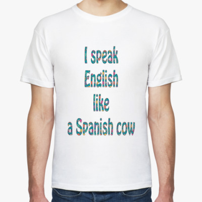 Футболка Speaking English