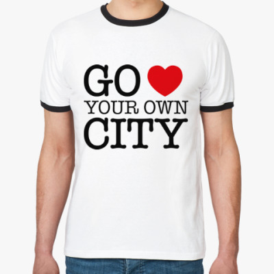 Футболка Ringer-T Love your own city