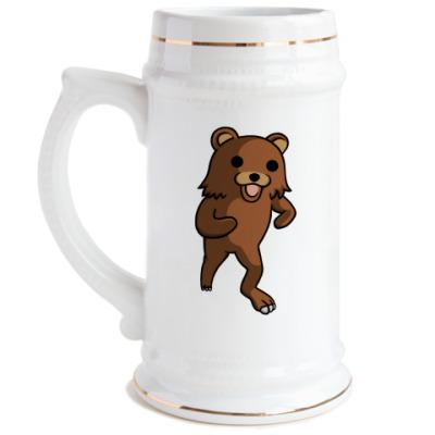Пивная кружка Медвед