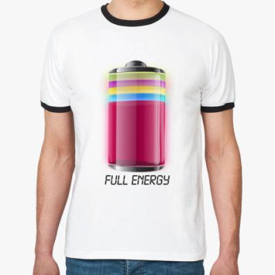 Футболка Ringer-T   'Energy'