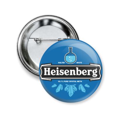 Значок 50мм Heisenberg