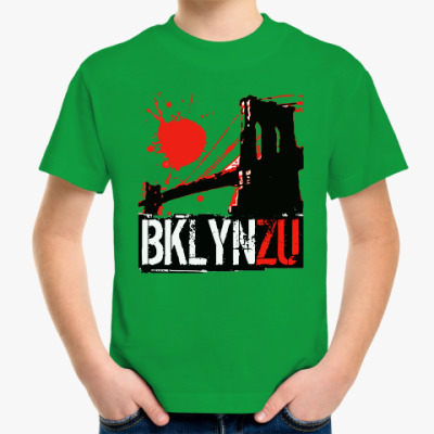 Детская футболка Brooklyn Zu