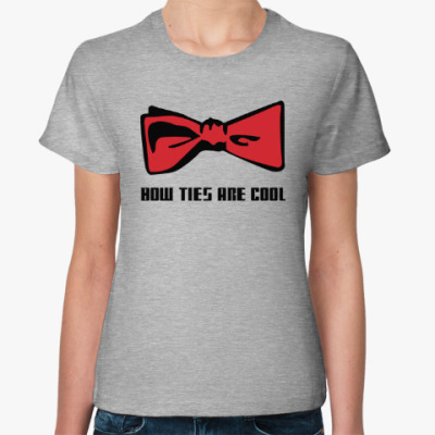 Женская футболка Доктор Кто бабочка