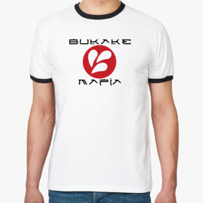 Футболка Ringer-T BUKAKE Mafia