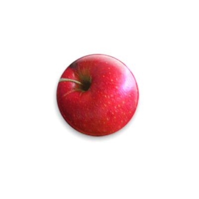 Значок 25мм  'Яблоко'