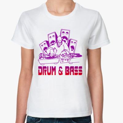 Классическая футболка Drum & Bass