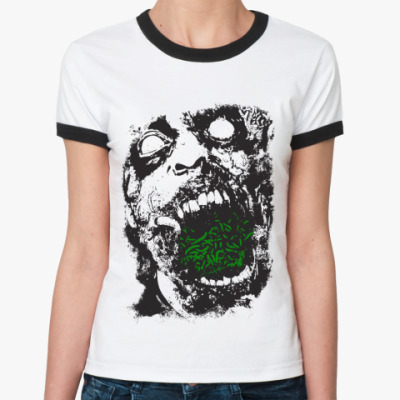 Женская футболка Ringer-T   Deadman