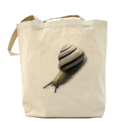 Сумка Холщовая сумка ``Улитка``