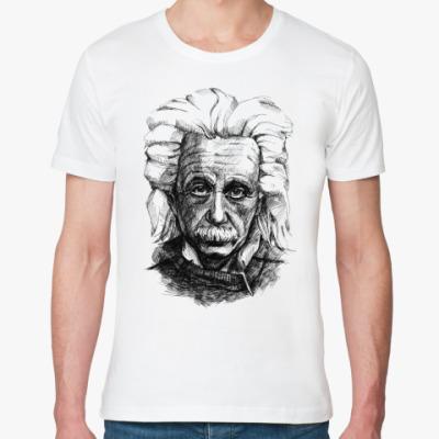 Футболка из органик-хлопка  Альберт Эйнштейн