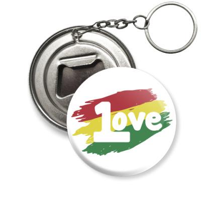 Брелок-открывашка 1 Love