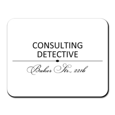 Коврик для мыши Consulting Detective