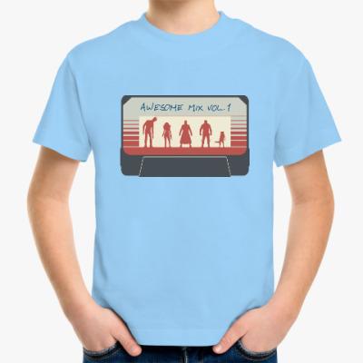 Детская футболка Стражи галактики - кассета