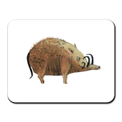 Коврик для мыши кабан