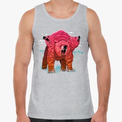Майка Трёхголовый Медведь