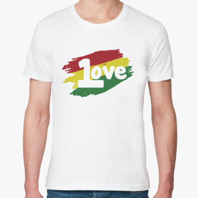 Футболка из органик-хлопка 1 Love