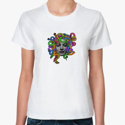 Классическая футболка Медуза Горгона