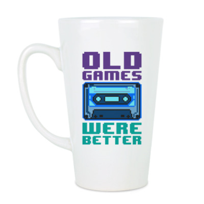 Чашка Латте Oldschool games were better