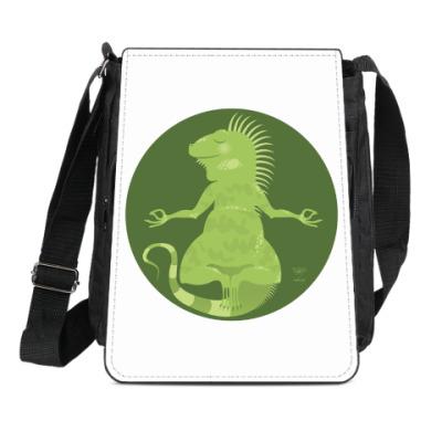 Сумка-планшет Animal Zen: I is for Iguana