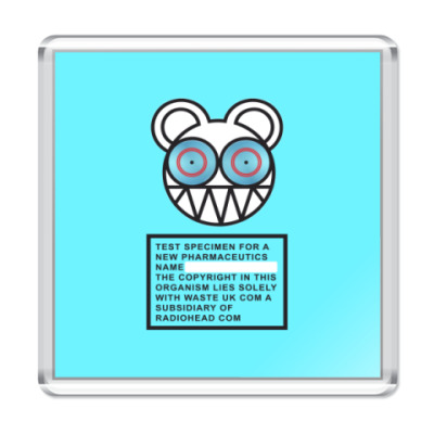 Магнит Radiohead