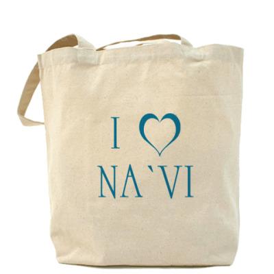 Сумка I love NA`VI